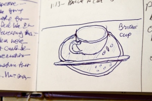 journal picture: tea cup